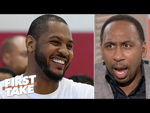 Video: LeBron has the clout to get Carmelo Anthony signed - Stephen A. | First Take