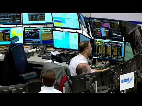Kursrutsch an den Weltbörsen, Dax fällt um mehr als 5 Prozent