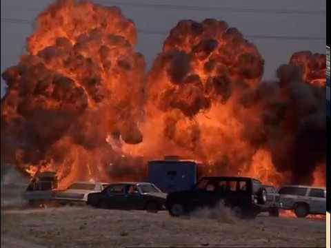 The Best Movie Explosions: The Sweeper (1996) Freeway Chase