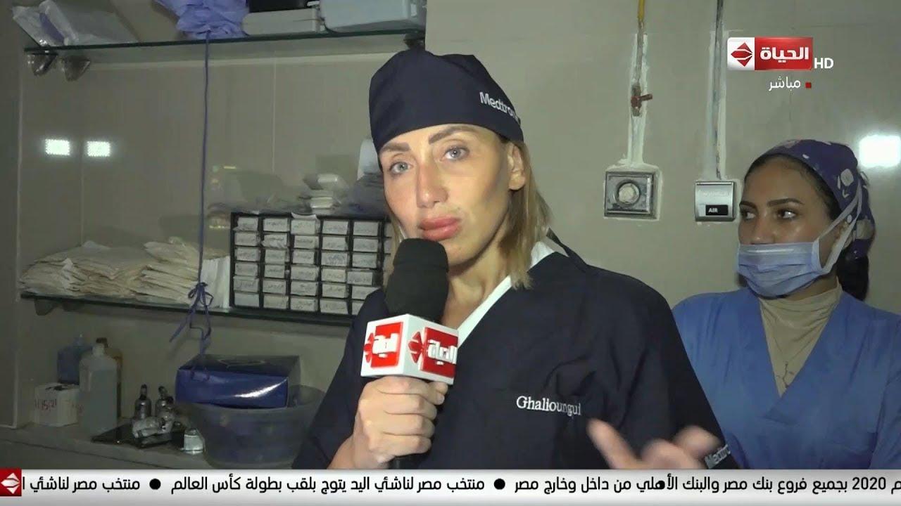 صبايا - ريهام سعيد ترد على كل المشككين في إجراءها لعمليات مجانية للمرضى من داخل غرف العمليات
