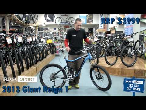 2013 Giant Reign 1 Mountain Bike Review