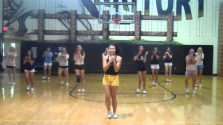 """MHS Cheerleaders """"Call Me Maybe"""" Cover"""