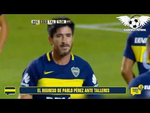 El regreso de Pablo Pérez ante Talleres