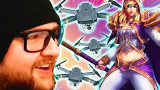 VEGAN TRIBUTE: RIP Hengest   Squadron Funny Moments   Heroes of the Storm Gameplay   MFPallytime, Blizzard Entertainment, World of Warcraft