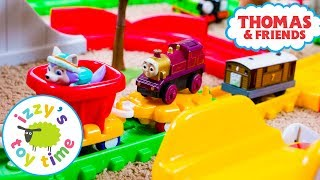 Little Tikes Construction Race with Thomas Train and Paw Patrol! Fun Toy Videos for Children