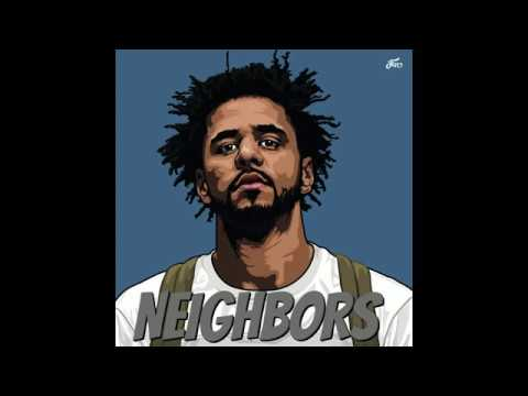 J Cole - Neighbors [LYRICS HQ][Explicit] (видео)