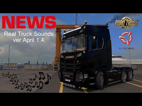 REAL TRUCK SOUNDS MOD for ETS2 v1.0
