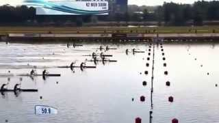2014 Moscow k2 500 M Men Canoe Sprint World Championships