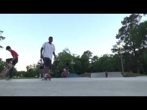 Lufkin's New Skate Park - 2017