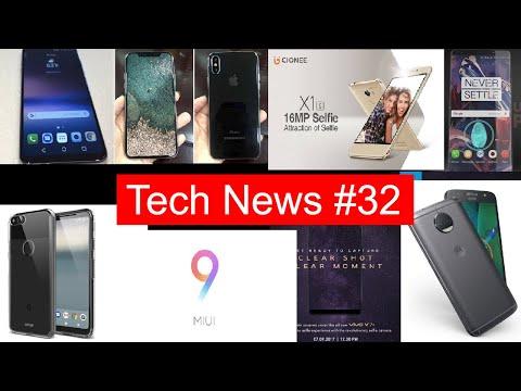 Tech News #32 IPhone 8 wireless charging,lg v30,helio p23 & P30,oneplus 6, moto g5s plus Launch,Q6+