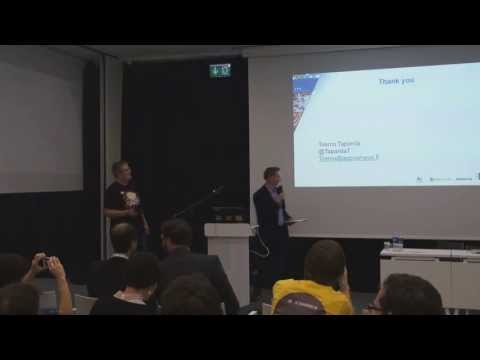 App Camp 2013 keynote: AppCampus.fi - Get Funded Now by Teemu Tapanila
