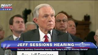 PART 3: Confirmation Hearing of Trump Attorney General Nominee Jeff Sessions FNN