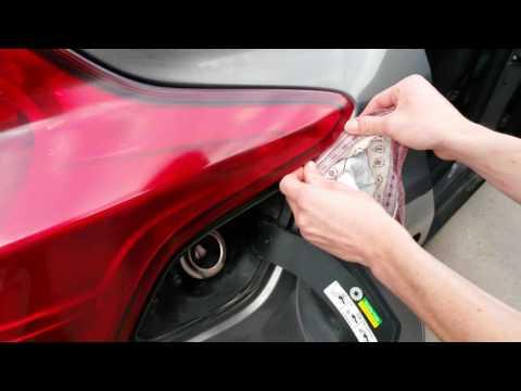 как поменять лампочку заднего габарита на форд фокус 3