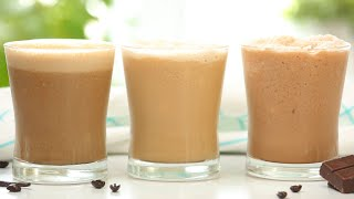 Iced Coffee 3 Delicious Ways | Frozen Summer Drinks by The Domestic Geek