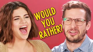 "Video Selena Gomez And The Cast Of ""Hotel Transylvania 3"" Play Monster Would You Rather MP3, 3GP, MP4, WEBM, AVI, FLV November 2018"