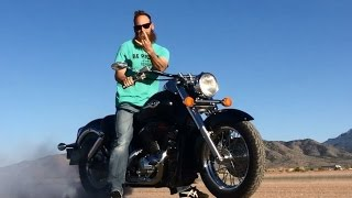 9. Custom 2001 Honda Shadow 750 ACE