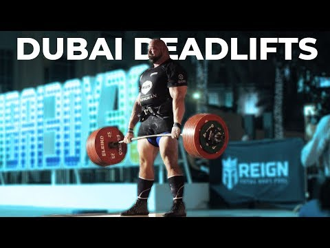 TOP DEADLIFTS FROM WUS DUBAI   EDDIE HALL