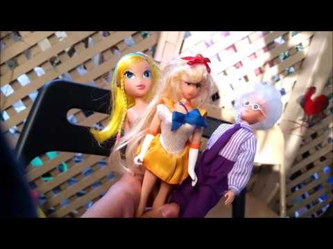 Thrifted Dolls- Lisa Frank, Sailor Venus, Professor Tomoe