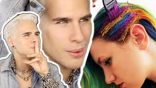 Video GLITTERAGE IS THE NEW HAIR TREND YOU NEED TO GET INTO MP3, 3GP, MP4, WEBM, AVI, FLV Maret 2019