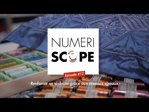 Numériscope #13 Renforcer sa visibilité grâce aux réseaux sociaux