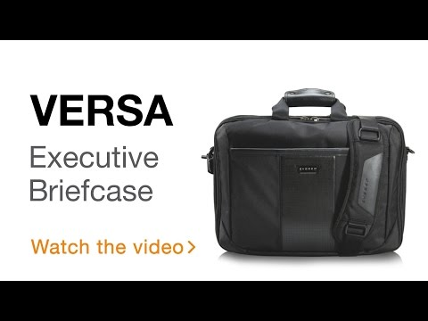 EVERKI Versa Premium Checkpoint Friendly Laptop Bag – Briefcase (EKB427/EKB427BK17)