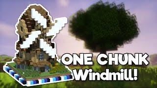 Minecraft: Windmill in ONE CHUNK! [Tutorial]