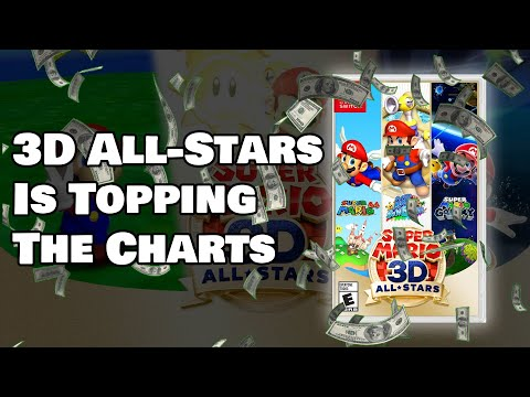 Mario 3D All-Stars Is Selling Like Crazy