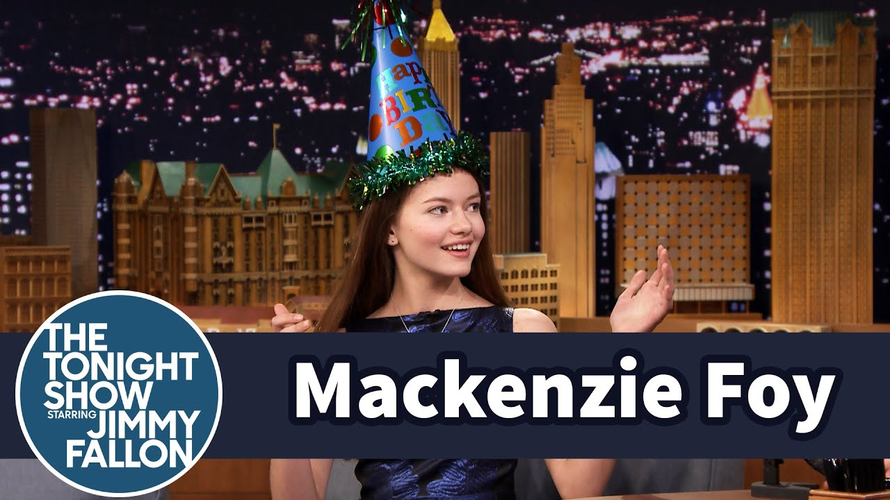 Mackenzie Foy Takes Down Jimmy with Taekwondo