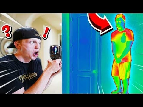 USING THERMAL CAMERAS TO CHEAT IN HIDE & SEEK!