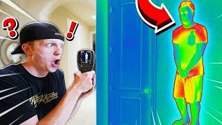 Video USING THERMAL CAMERAS TO CHEAT IN HIDE & SEEK! MP3, 3GP, MP4, WEBM, AVI, FLV Agustus 2019