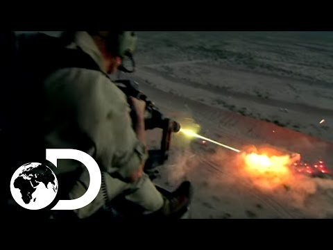 weapons - Crafted from titanium, the Dillon M134 unleashes an unbelievable 50 rounds a second, 3000 rounds a minute. Subscribe to Discovery TV for more great clips: ht...