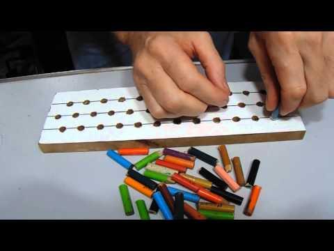 tear - Aprenda passo a passo como construir um tear de elástico para você fazer suas pulseiras.