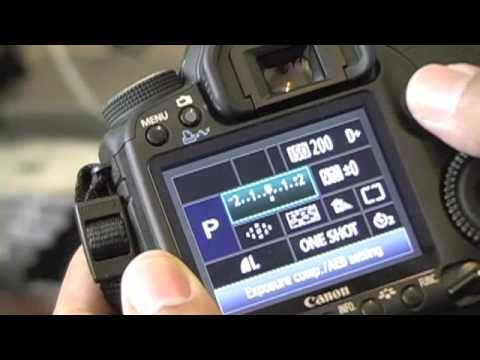 50D - This tutorial shows you how to set and use the 50D's camera preset buttons.