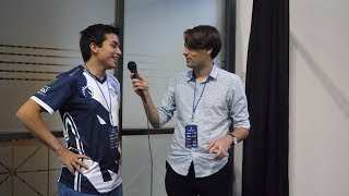 Chu post 1st Leffen set interview