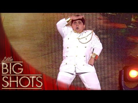 INCREDIBLE Akshat Singh Wows With His Dancing 🕺 @Best Little Big Shots