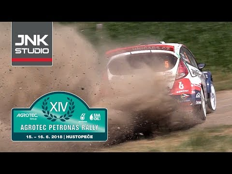 XIV. Agrotec Petronas Rally Hustopeče 2018 (action & big moments)