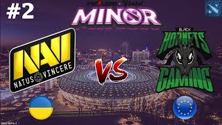 Na`Vi vs BHG #2 (BO2) StarLadder ImbaTV Dota 2 Minor Season 2