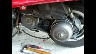 6. Honda Helix CN 250 clutch problem