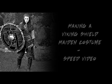 Making a Viking Shield Maiden Costume - Speed Video
