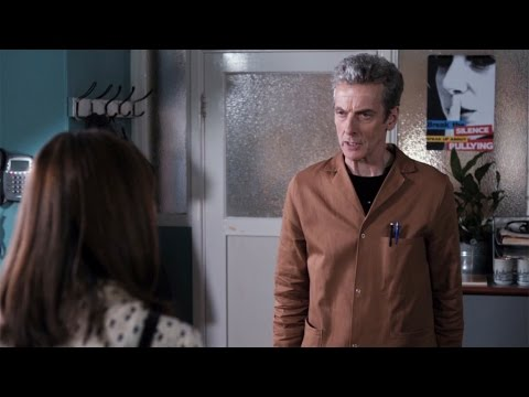 The Doctor goes undercover - The Caretaker: Preview - Doctor Who: Series 8 Episode 6 - BBC One