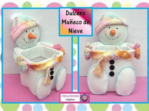 foamy - porta dolcetti a forma di pupazzo di neve