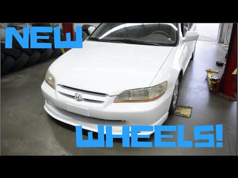 Honda Accord Gets New Wheels!!