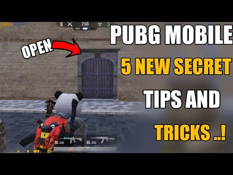 Pubg Mobile Top 5 New Tips And Tricks Hindi ! 5 Hidden Pro Tips And Tricks Pubg Mobile