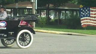 Jonesville (MI) United States  City new picture : Ford Model T road rally through Jonesville Michigan