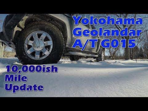 Yokohama Geolandar A/T G015 10,000 mile update