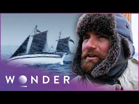 Men Trapped In Sea Storm Battle Dangerous Waves | Shackleton Epic: Death Or Glory S1 EP1 | Wonder