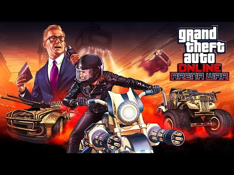 "GTA 5 New Update - GTA 5 ""Arena War"" DLC Spending Spree!! (GTA 5 Spending Spree)"