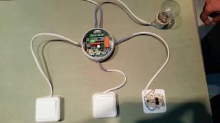 Как сделать электропроводку с двумя выключателями