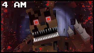 Minecraft FNAF - Nightmare Freddy | 4 AM (FNAF Minecraft Roleplay)