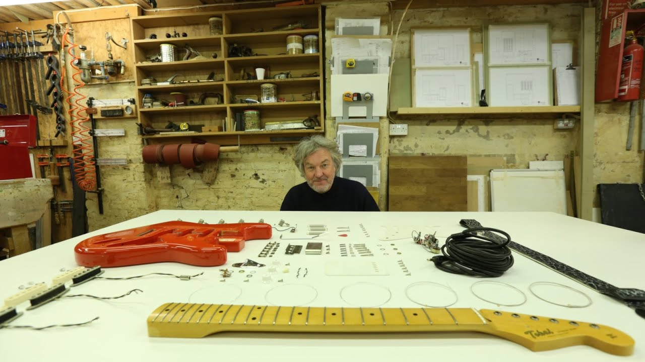 Reassembling an electric guitar – James May: The Reassembler: Episode 3 – BBC Four